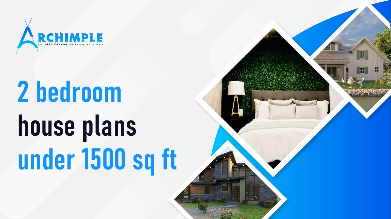 Best 2 Bedroom House Plans Under 1500 Sq Ft