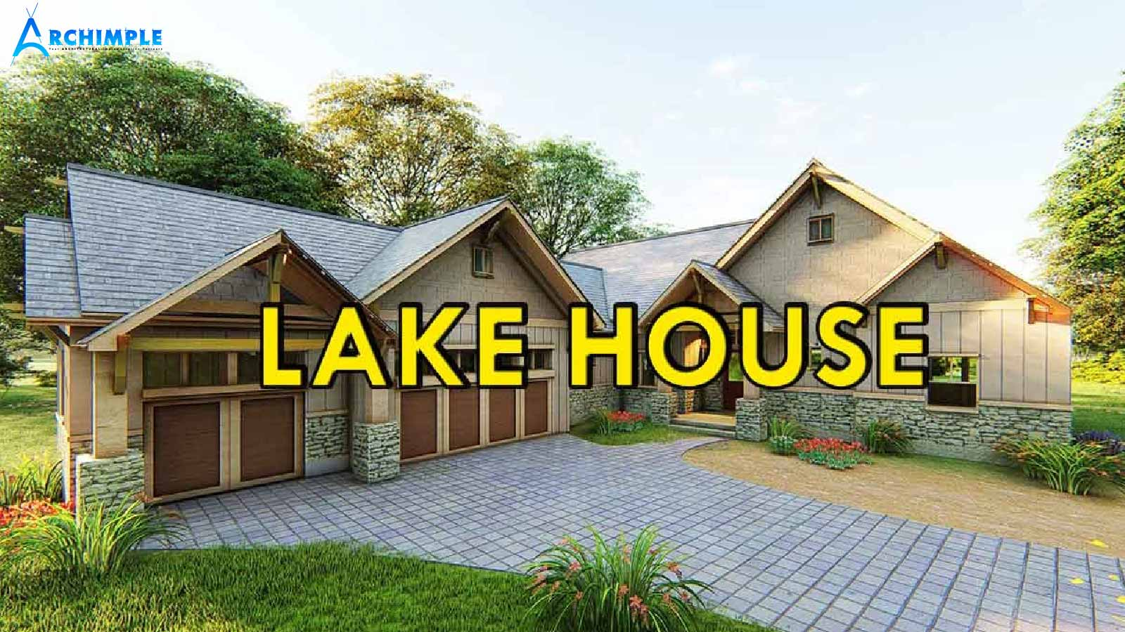Archimple   20 Bedroom Lake House Plans For Your Vacation