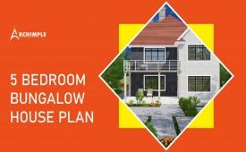 5 bedroom house plans bungalow