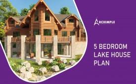 5 bedroom lake house plans
