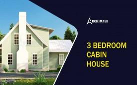 3 bedroom cabin house plans