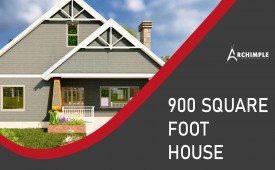 900 square foot house